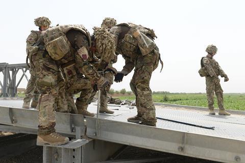 Bridge Helmand - military - army